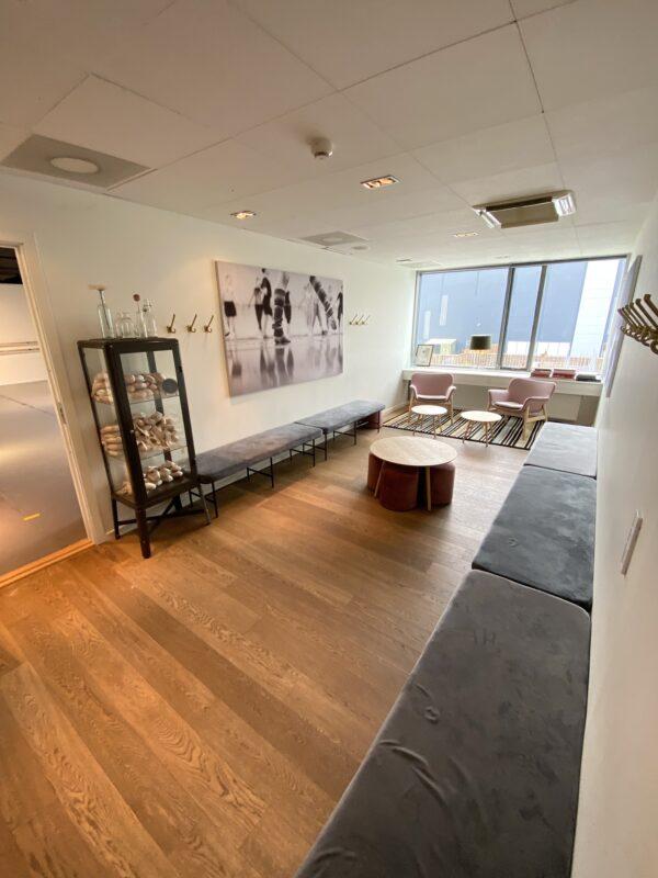 Balletskole i Ørestads foyer